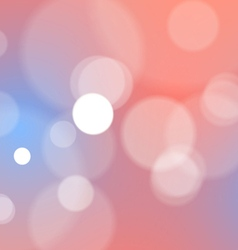 Abstract bokeh lights background vector