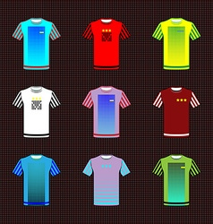 Team sportswear uniform vector