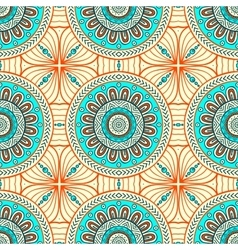 Abstract background seamless pattern vector image vector image