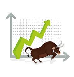Business stock exchange vector