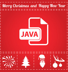 Java icon vector
