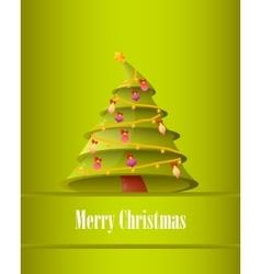 Poster Christmas Tree vector image