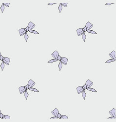 Purple ribbons seamless pattern for your design vector