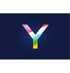 Y letter logo icon symbol vector image