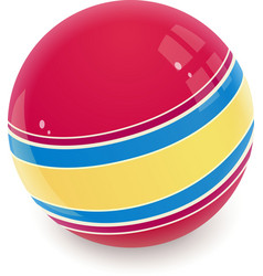 Ball Childs toy vector image