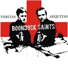 boondock saints vector image
