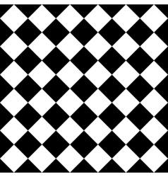 Empty diagonal chess board EPS10 vector image vector image