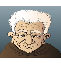 grandfather old man people vector image