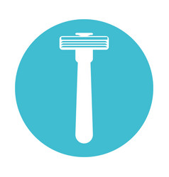 Razor machine symbol vector