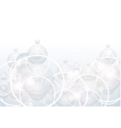 Abstract shiny circles background vector