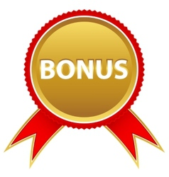 New bonus icon vector