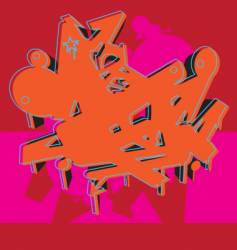Graffiti graphic vector
