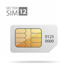 SimCard04 vector image