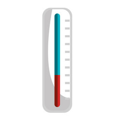 Medical thermometer isolated icon vector