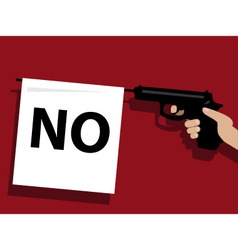 How to say no vector