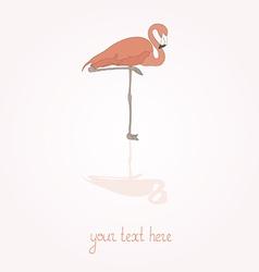 Flamingostand12 vector