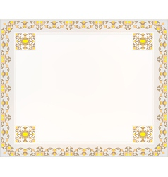 frame design for card vector image vector image