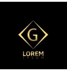 G letter logo vector image