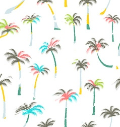 Pattern of palm trees palm trees seamless vector