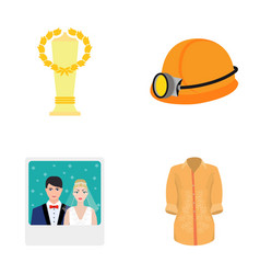 Business sport textile and other web icon in vector