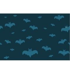 Halloween background seamless pattern vector image