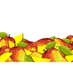 Mango composition Isolated vector image