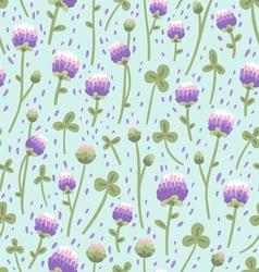 Clover pattern vector