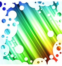 rainbow multicolored bright background vector image