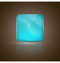 Abstract background with glass banner vector
