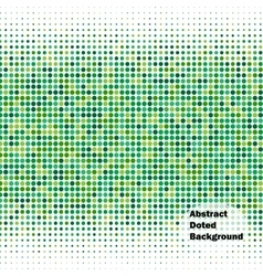 Abstract dot background vector image vector image