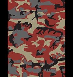 Camouflage pattern background Woodland style vector image