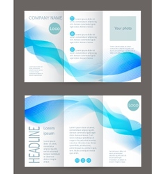 Corporate business stationery templat vector image vector image