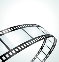 film strip background vector image vector image