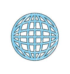Sphere global symbol vector