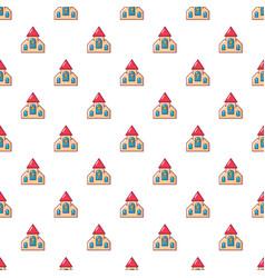 Wedding church pattern seamless vector