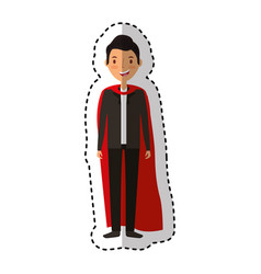 Magician avatar character icon vector