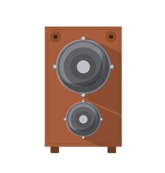 Speaker box isolated icon design vector