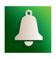 Ringing bell sign vector