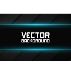 Dark background with shiny lines vector