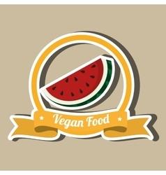 Vega food design vector