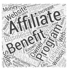 Who can benefit from affiliate tracking software vector