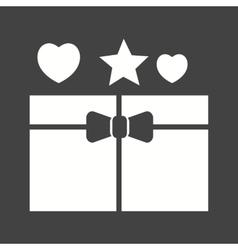 Open gift vector