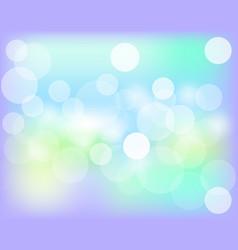 abstract bokeh background festive defocused vector image