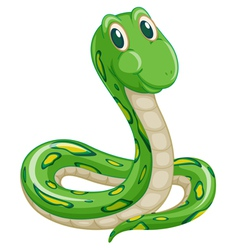 Cartoon snake vector