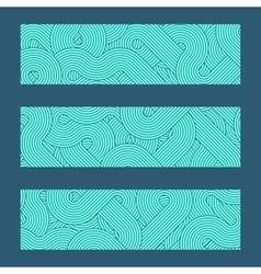 geometric boarders elements vector image