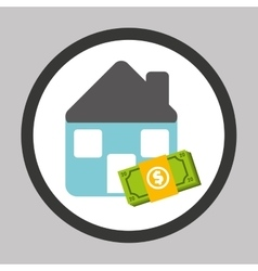 investment housing design vector image