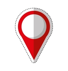 Pin pointer location icon vector