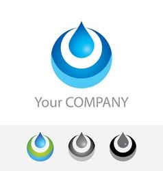 Pure water vector