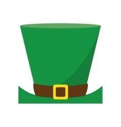 Top hat saint patrick day symbol vector