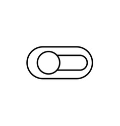 switch off icon vector image
